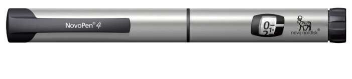 Шприц-ручка Novo Nordisk НовоПен 4 серый