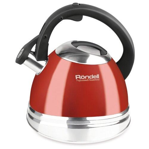 Rondell Чайник Fiero RDS-498 3 л, красный rondell чайник fiero rds 498 3 л красный