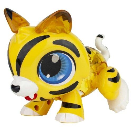 Купить Интерактивная игрушка робот 1 TOY Робо Лайф Тигрёнок желтый, Роботы и трансформеры