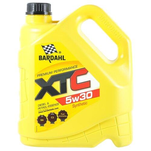 Синтетическое моторное масло Bardahl XTC 5W30, 4 л по цене 2 486