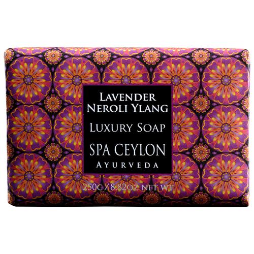 Мыло кусковое роскошные Spa Ceylon Лаванда, нероли, иланг-иланг, 250 г