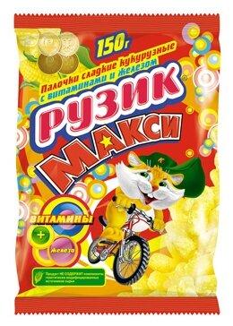 Палочки Рузик Макси сладкие кукурузные с витаминами и железом 150 г