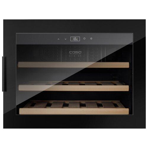 Встраиваемый винный шкаф Caso WineSafe 18 EB black