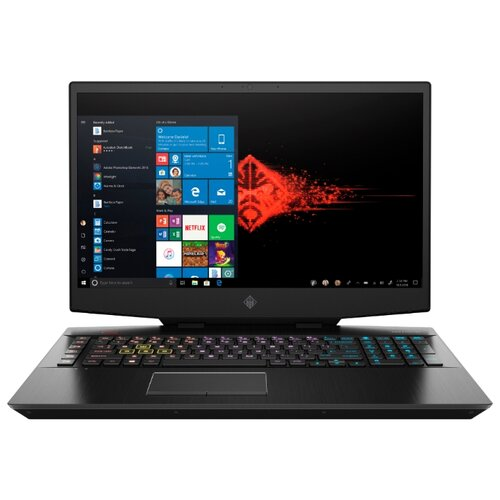 Купить Ноутбук HP OMEN 17-cb0048ur (Intel Core i7 9750H 2600MHz/17.3 /1920x1080/16GB/512GB SSD/DVD нет/NVIDIA GeForce RTX 2060 6GB/Wi-Fi/Bluetooth/Windows 10 Home) 9PW17EA таинственный черный