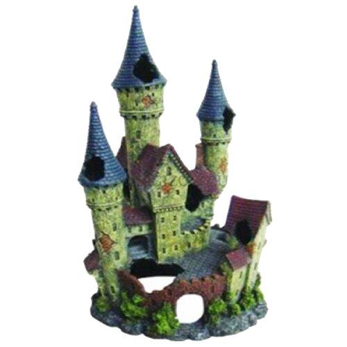 Грот BARBUS Замок Decor 010 18x32.5x17.5 см зеленый