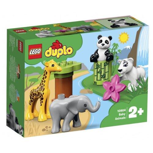 Фото - Конструктор LEGO DUPLO 10904 Детишки животных конструктор lego duplo my first поезд для животных 10955