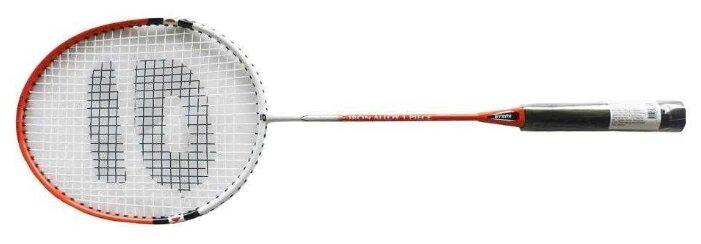 Ракетка для бадминтона ATEMI BA-200 красный/белый