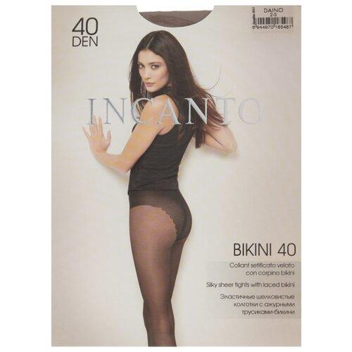 цена Колготки Incanto Bikini 40 den, размер 2, daino (бежевый) онлайн в 2017 году