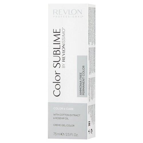 Revlon Professional Revlonissimo Color Sublime стойкая краска для волос, 75 мл, 7.13 блондин пепельно-золотистый