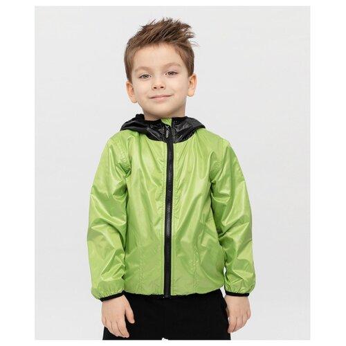 Купить Куртка Button Blue Flash 120BBBF40024800 размер 116, зеленый, Куртки и пуховики