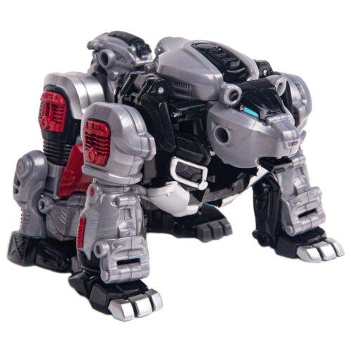 Купить Трансформер YOUNG TOYS Metalions Ursa Mini серый/черный, Роботы и трансформеры