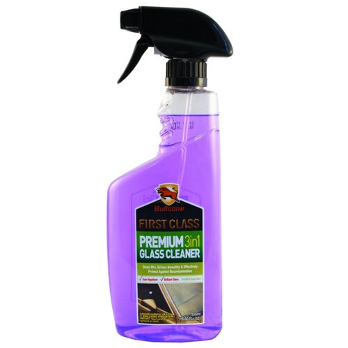 Очиститель для автостёкол Bullsone Premium Glass Cleaner 3 in 1 10684900, 0.55 л
