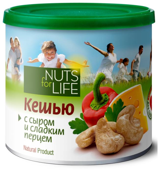 Кешью с сыром и сладким перцем - Nuts for life
