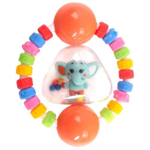 Фото - Погремушка Happy Snail Слоник Джамбо красный игрушка погремушка happy snail хруми 17hst02hr