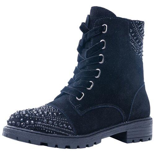 Ботинки КОТОФЕЙ размер 34, черный ботинки котофей размер 34 черный