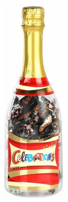 Набор конфет Mars Селебрейшнс Бутылка большая 312 г