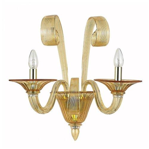 Настенный светильник Donolux Firenze W110218/2amber, 120 Вт бра donolux w110218 2grey