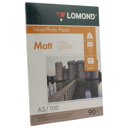 Фото - Бумага Lomond A3 Photo Paper 0102011 90 г/м² 100 лист. белый 1 шт. бумага lomond 0102005 photo матовая 1стор