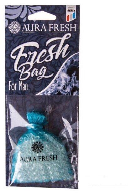 AURA FRESH Ароматизатор для автомобиля Fresh Bag For Man 30 г