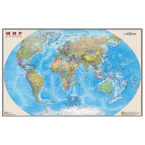 DMB Политическая карта Мира 1:25 (3)
