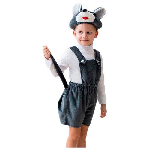 Купить Костюм Бока Мышонок, серый, размер 122-134, Карнавальные костюмы