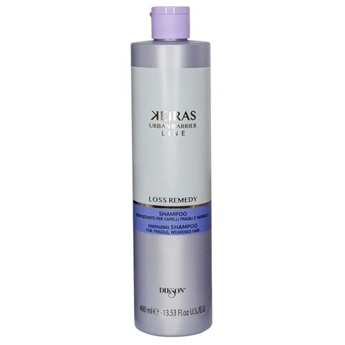 Dikson шампунь Keiras Urban Barrier Line Loss Remedy против выпадения волос, 400 мл ducray неоптид лосьон от выпадения волос для мужчин 100 мл