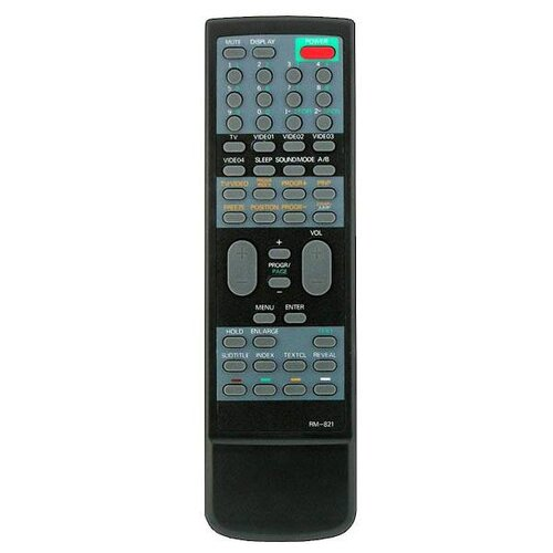 Фото - Пульт ДУ Huayu RM-821 для телевизоров Sony KPR-S46MH1/KPR-S53MH1, черный пульт ду huayu rm d759 для toshiba черный