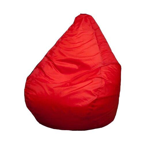 Пуффбери кресло-мешок Груша Оксфорд XXL красный оксфорд