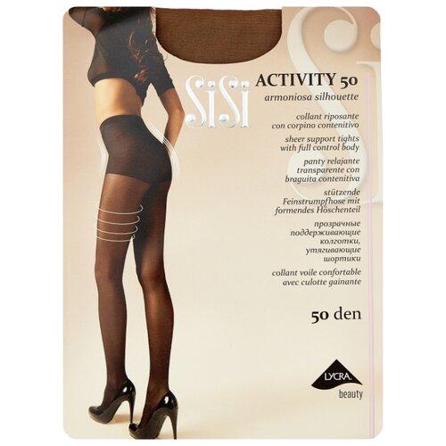 Колготки Sisi Activity 50 den, размер 5-MAXI XL, daino (бежевый) колготки sisi activity 70 den размер 5 maxi xl daino коричневый