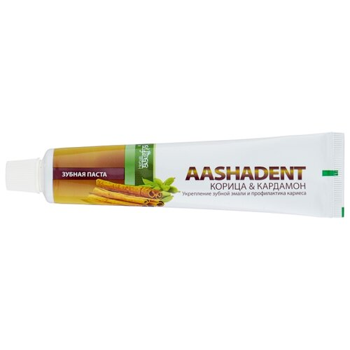 Зубная паста Aashadent Корица - Кардамон, 100 г