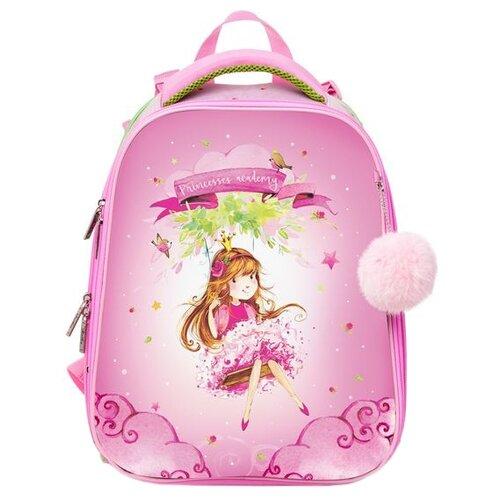 Купить Hatber Рюкзак Ergonomic Принцесса (NRk_30020), розовый, Рюкзаки, ранцы