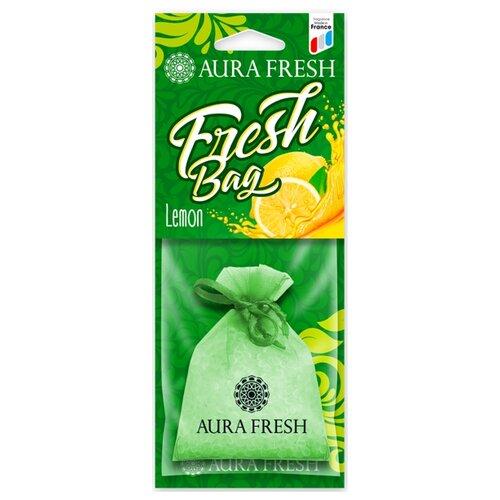 AURA FRESH Ароматизатор для автомобиля Fresh Bag Lemon 30 г