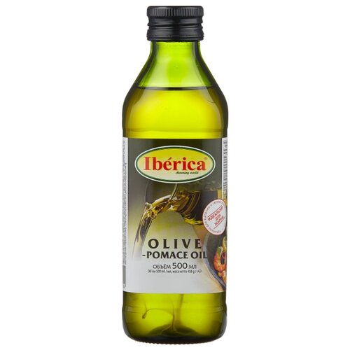 Iberica Масло оливковое Pomace, стеклянная бутылка 0.5 л casa rinaldi масло оливковое pomace sansa стеклянная бутылка 0 5 л