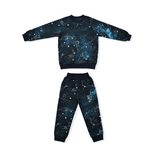 Купить Комплект одежды LEO размер 122, темно-синий, Комплекты и форма