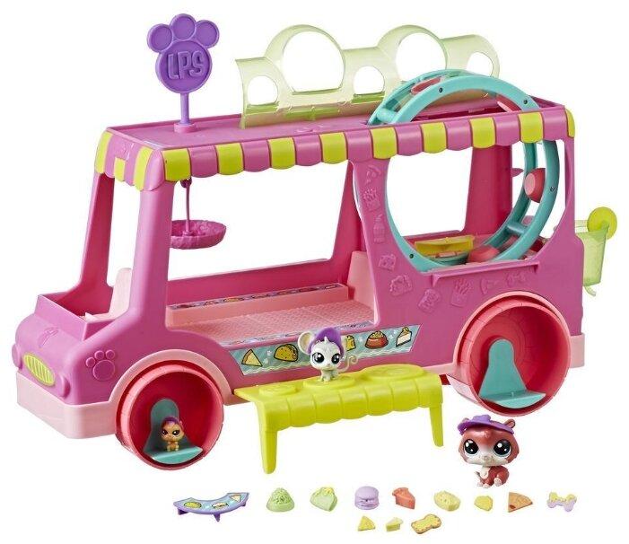 Игровой набор Hasbro Littlest Pet Shop Машина сладостей E1840