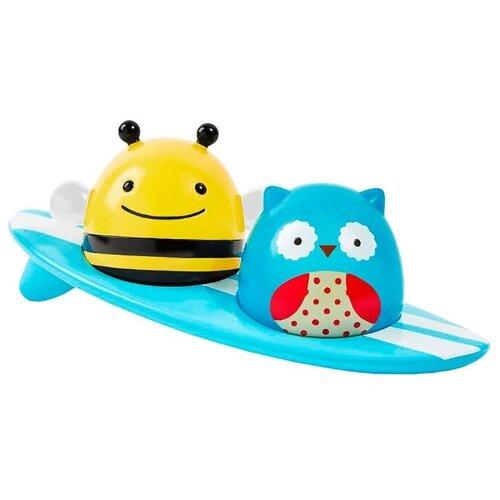 Купить Игрушка для ванной SKIP HOP Серферы голубой/желтый, Игрушки для ванной
