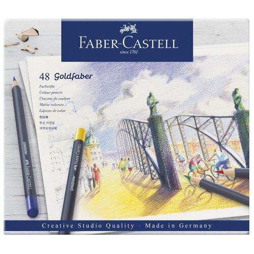 Купить Faber-Castell Карандаши цветные Goldfaber, 48 цветов (114748), Цветные карандаши