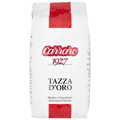 Кофе в зернах Carraro Tazza D`Oro, арабика/робуста, 1 кг кофе в зернах kami lespresso oro 1 кг