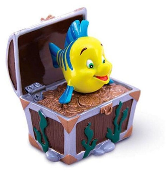 Фигурка для аквариума Triol Flounder 6.5х6х7.5 см