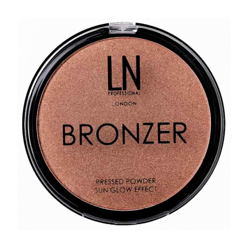 LN-professional Бронзирующая пудра Bronzer Sun Glow Effect 101