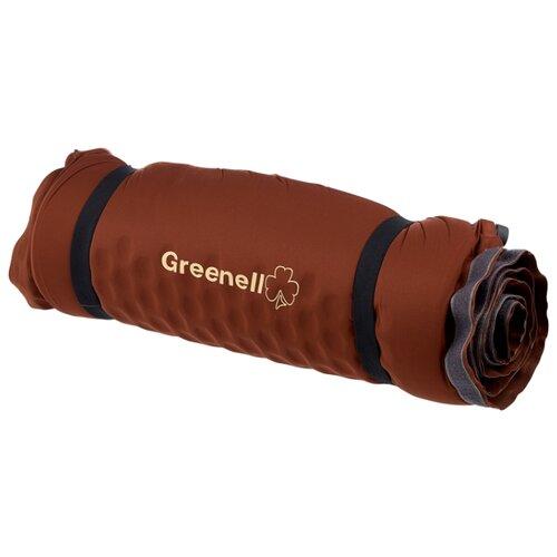 Коврик Greenell Люкс 190х60х10 см, коричневый палатка greenell виржиния 6 плюс green