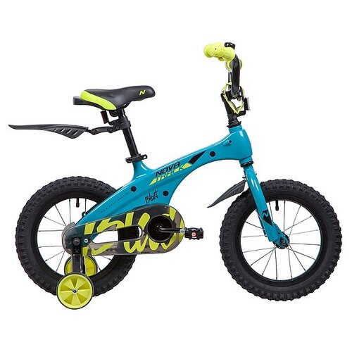 Детский велосипед Novatrack Blast 14 (2019) бирюзовый (требует финальной сборки)