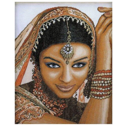 Купить Lanarte Набор для вышивания Индианка 39 x 49 см (0008160-PN), Наборы для вышивания