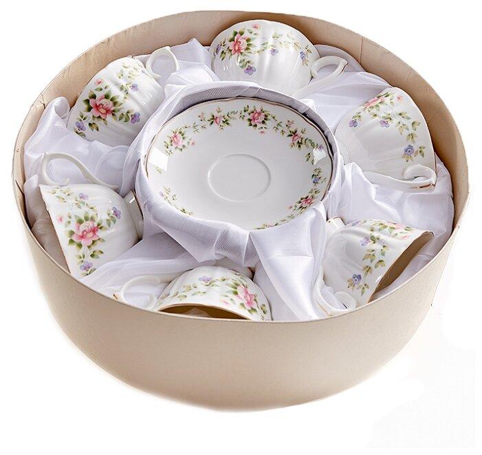 Чайный сервиз Beatrix Розмари 12 предметов 240 мл