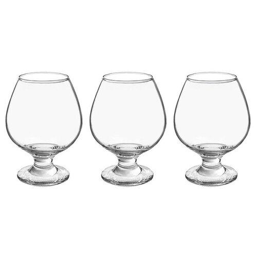 Pasabahce Набор фужеров для коньяка Bistro 395 мл прозрачный набор фужеров для шампанского pasabahce bistro цвет прозрачный 275 мл 6 шт