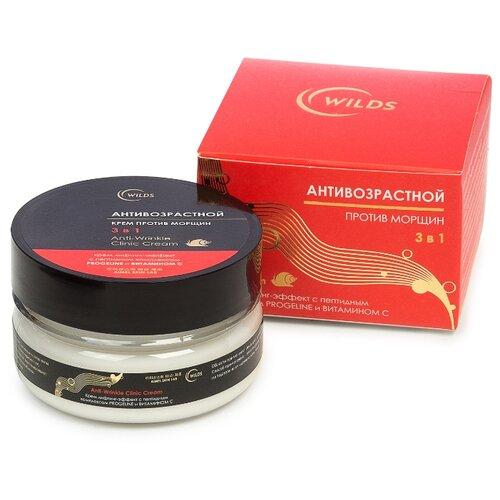 Крем Wilds Anti-Wrinkle Clinic Cream лифтинг-эффект с пептидным комплексом Progeline и витамином С 60 мл