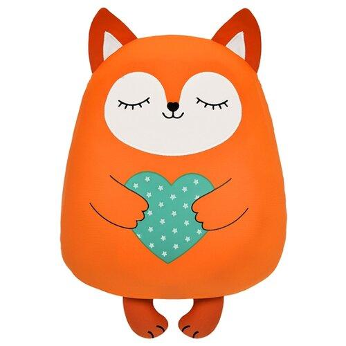 maxitoys мягкая игрушка maxitoys luxury slim лисичка с цветочком 33 см Игрушка-антистресс Maxitoys Сплюшка Лисичка 30 см
