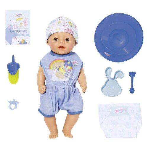 Купить Интерактивная кукла Zapf Creation Baby Born 36 см Мальчик Нежное прикосновение 827-338, Куклы и пупсы