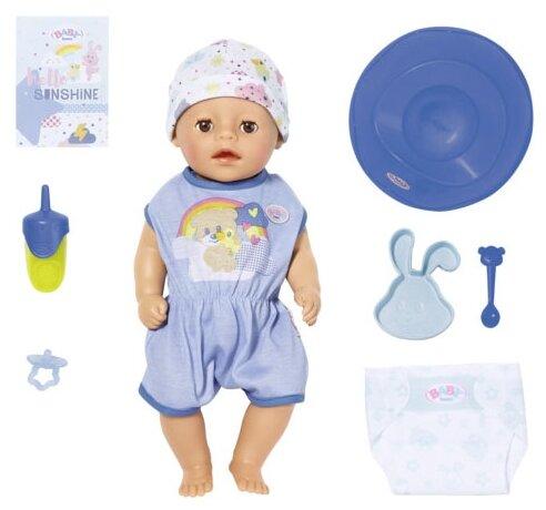 Интерактивная кукла Zapf Creation Baby Born 36 см Мальчик Нежное прикосновение 827-338 — купить по выгодной цене на Яндекс.Маркете