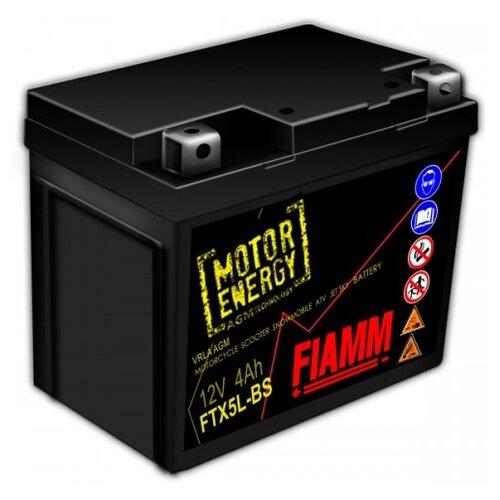 Мото аккумулятор Fiamm FTX5L-BS